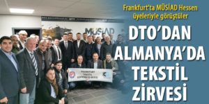 DTO'dan, Almanya'da tekstil zirvesi